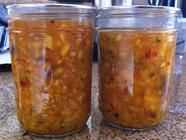 Peach Mango Chutney (Fermented)